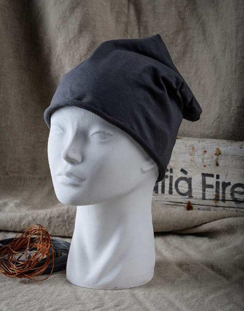 Cappello-jersey-grigio