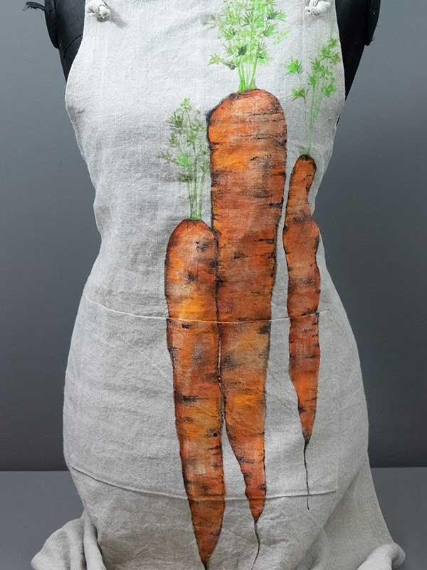 Grembiule carote dettaglio