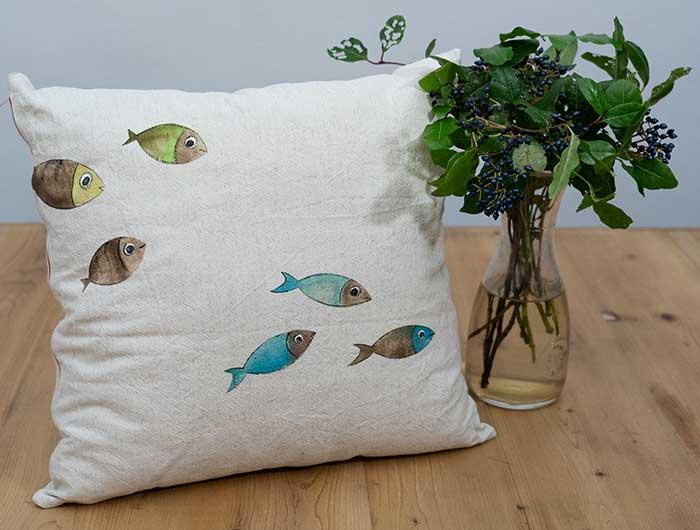 Cuscino-pesci