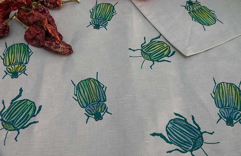 Tovagliette-scarabei