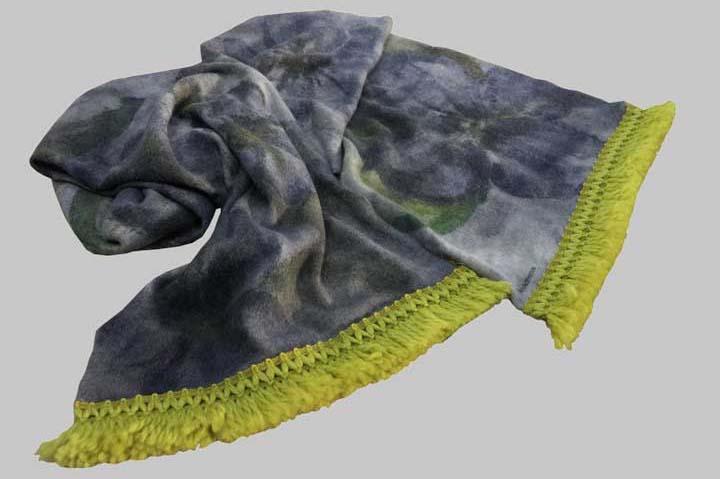 Scarf-blanket-yellow