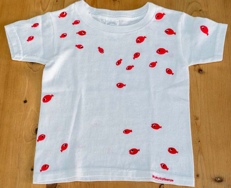baby fish t-shirt